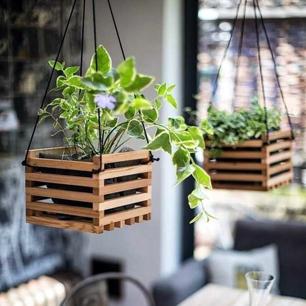 elegant diy hanging planter ideas for indoors 3 - Diy Hanging Planter