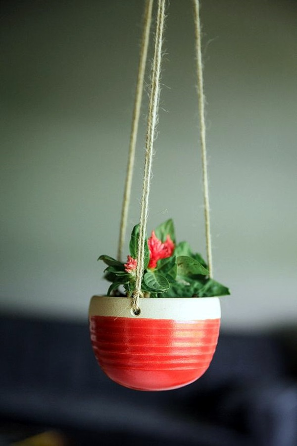 Elegant DIY Hanging Planter Ideas For Indoors (32)