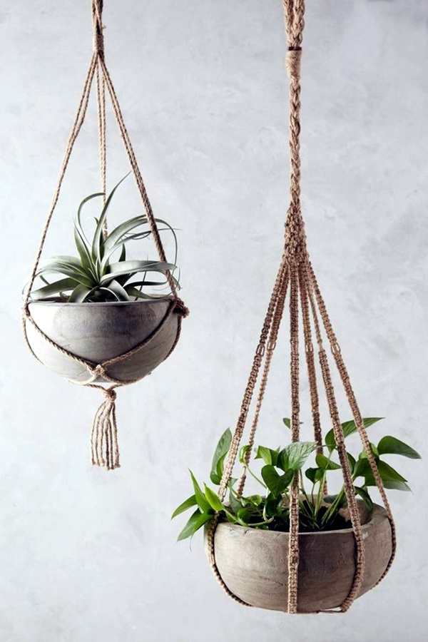 Elegant DIY Hanging Planter Ideas For Indoors (43)