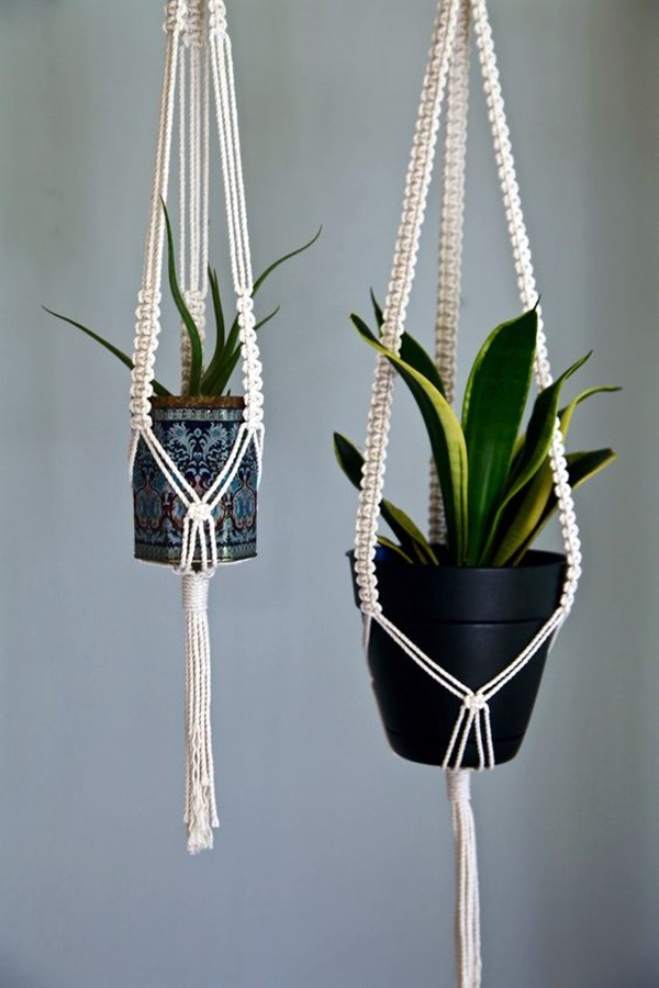 Elegant DIY Hanging Planter Ideas For Indoors (6)