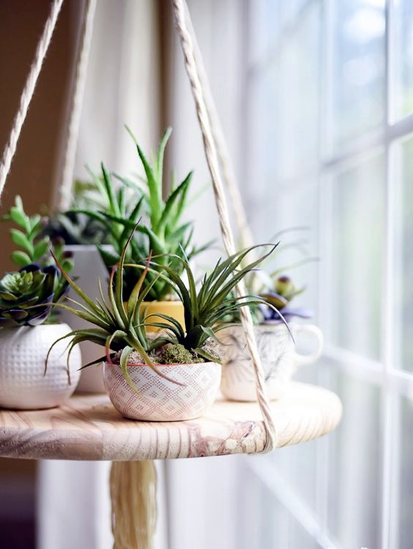 Elegant DIY Hanging Planter Ideas For Indoors (9)