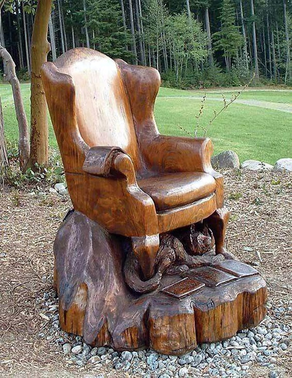 Exceptional Examples of Tree Carving Art (15)