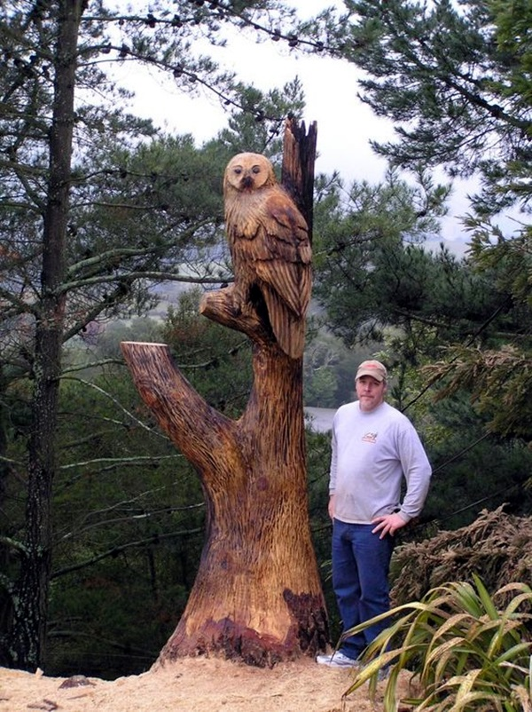 Exceptional Examples of Tree Carving Art (18)