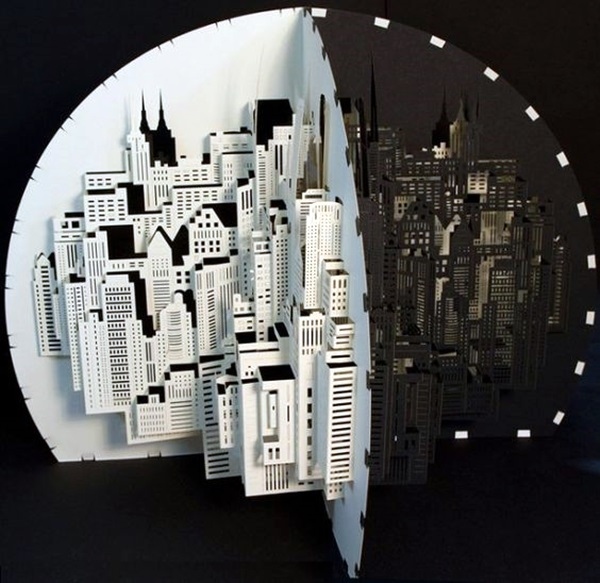 Extremely Creative Examples of Kirigami Art A Hobby to Addapt (26)
