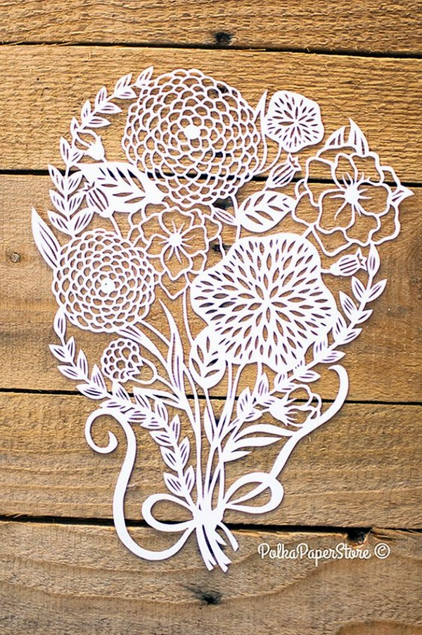Extremely Creative Examples of Kirigami Art A Hobby to Addapt (36)