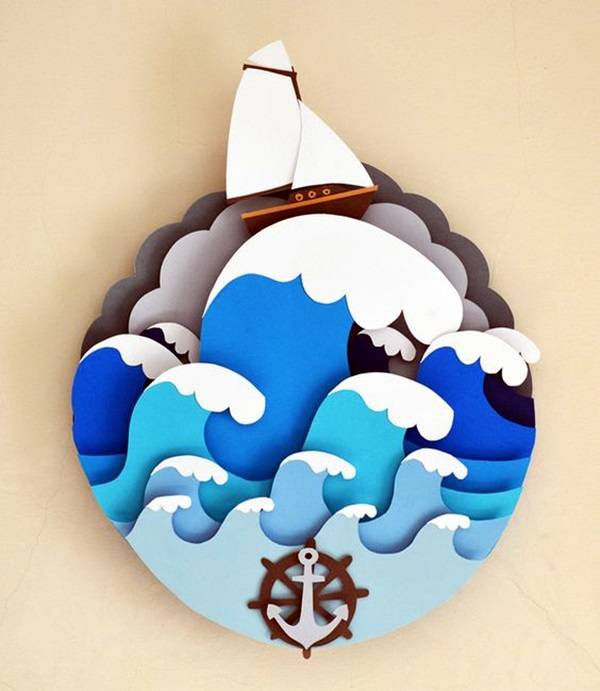 Extremely Creative Examples of Kirigami Art A Hobby to Addapt (37)