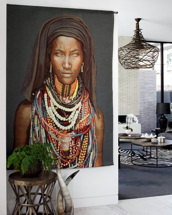 Personalized Tribal Wall Decor Ideas (18)