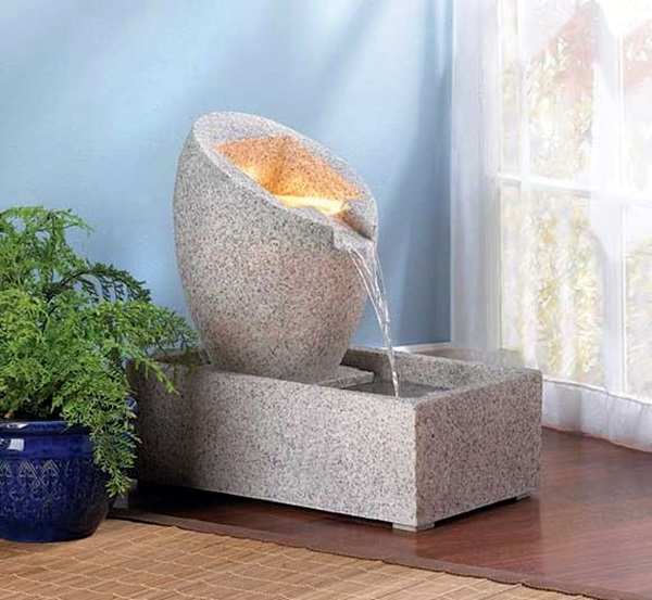 Relaxing Indoor Fountain Ideas (22)