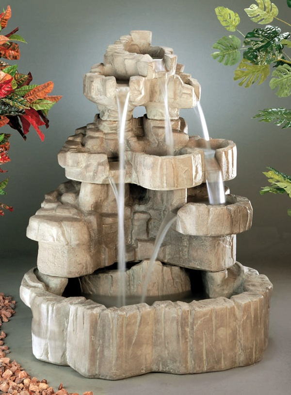 Relaxing Indoor Fountain Ideas (27)