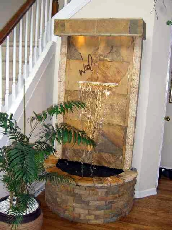 Waterfalls Indoor Fountains 40 relaxing indoor fountain ideas bored art relaxing indoor fountain ideas 28 workwithnaturefo