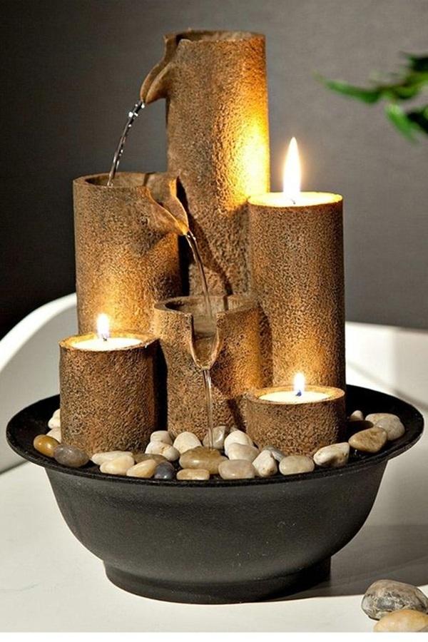 40 Relaxing Indoor Fountain Ideas Bored Art