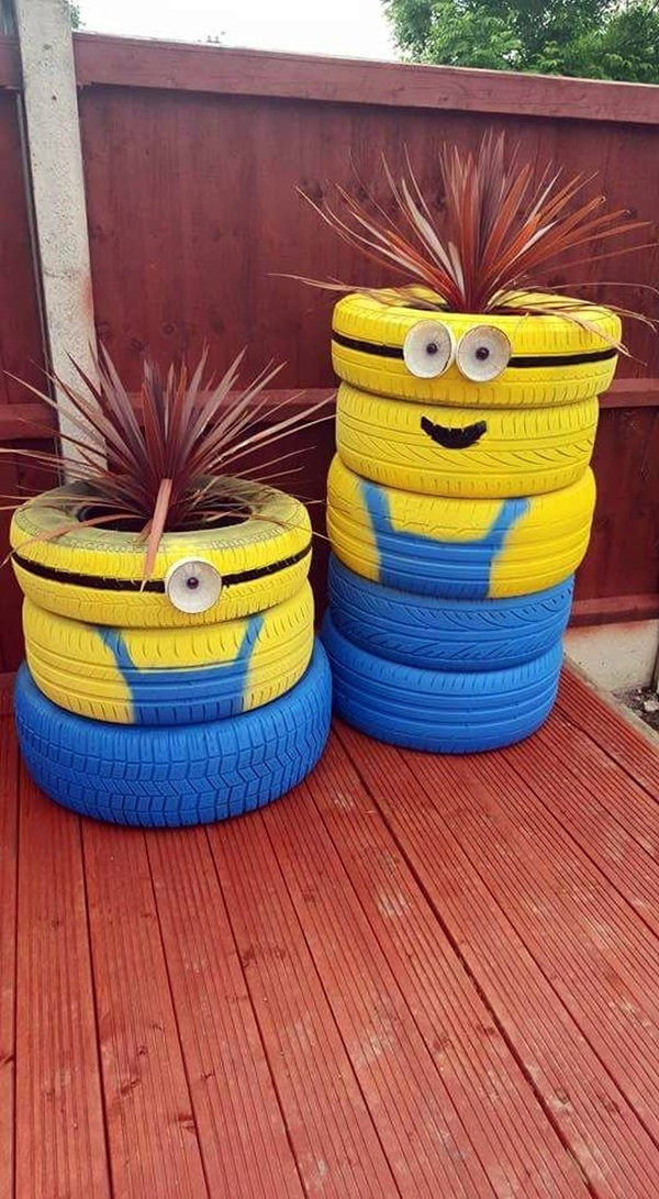 Smart Ways to Use Old Tires (19)