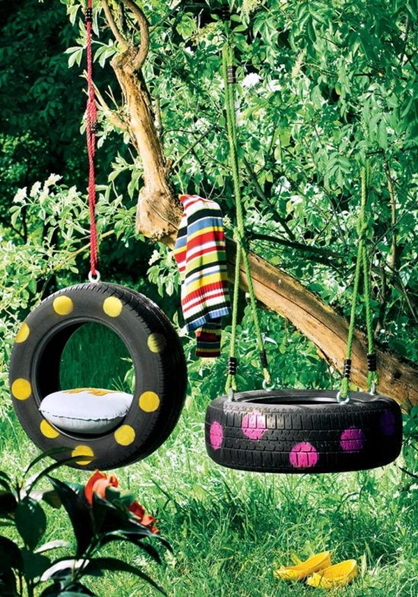 Smart Ways to Use Old Tires (28)
