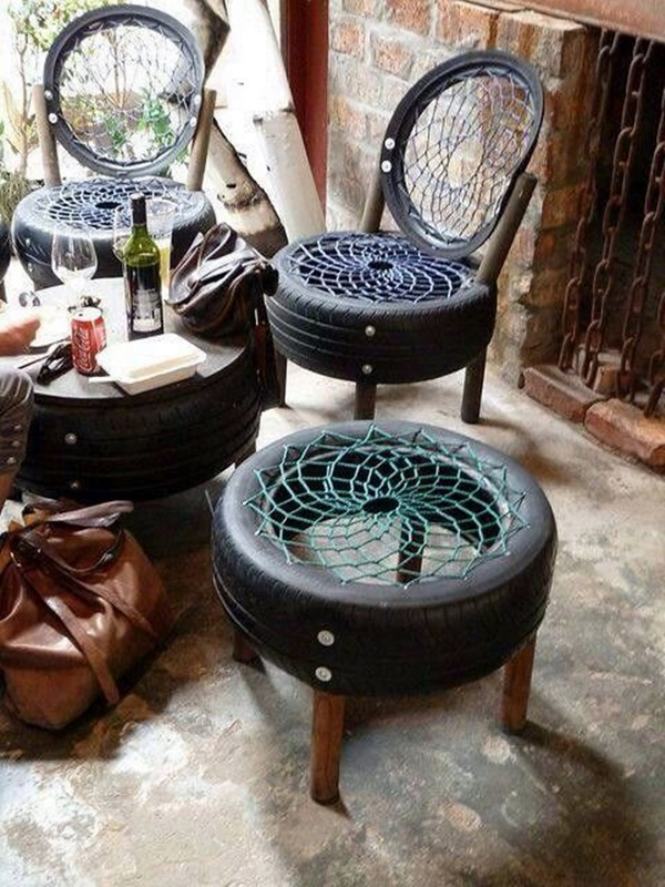 Smart Ways to Use Old Tires (41)