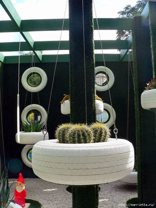 Smart Ways to Use Old Tires (7)