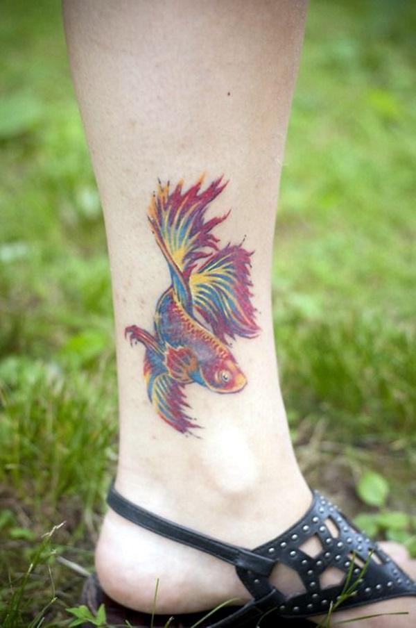 So Cute Tiny Fish tattoo Ideas (1)