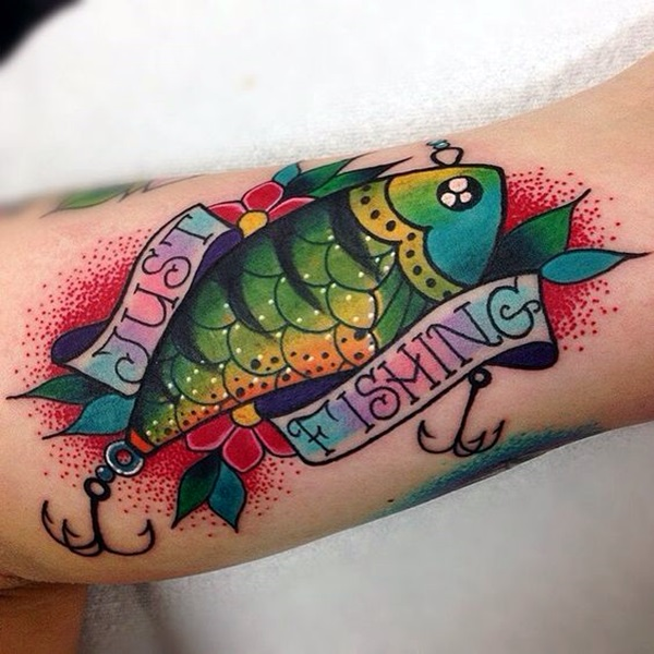 So Cute Tiny Fish tattoo Ideas (18)