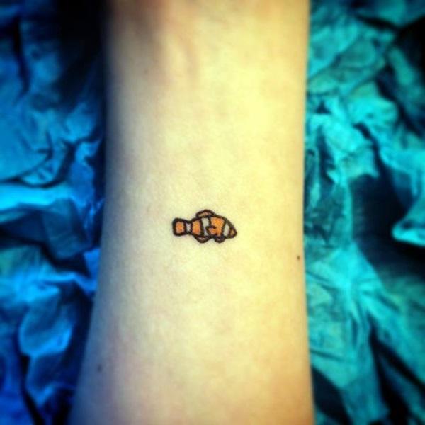 So Cute Tiny Fish tattoo Ideas (5)