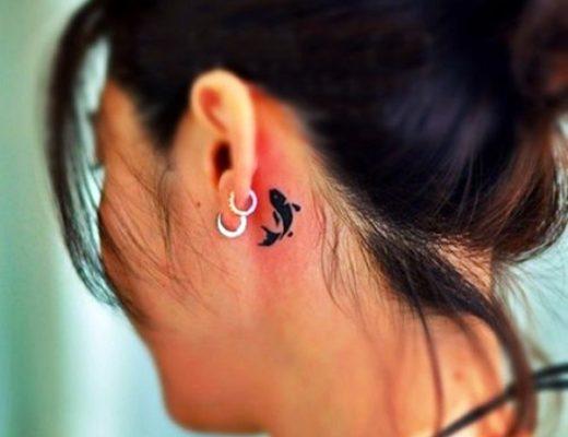 So Cute Tiny Fish tattoo Ideas (6)