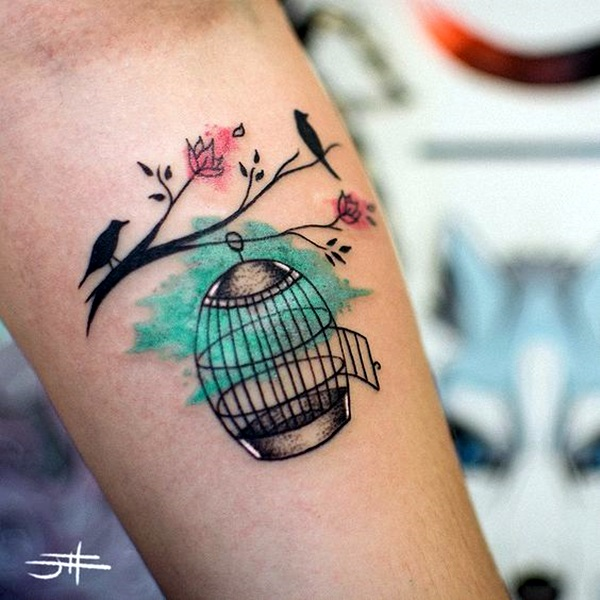 Tiny Bird Tattoo Ideas to admire (14)