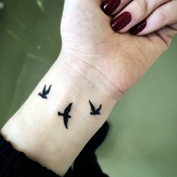 Tiny Bird Tattoo Ideas to admire (20)