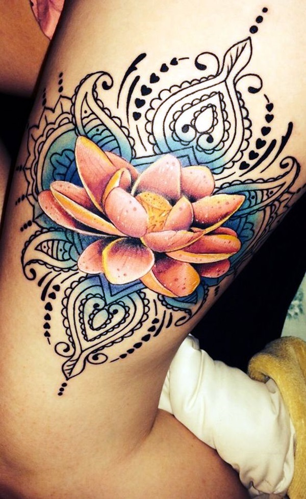 Unalome Tattoo Designs Every Girl Will Fall in Love With (17)