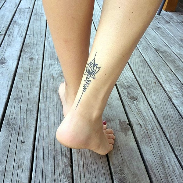 Unalome Tattoo Designs Every Girl Will Fall in Love With (22)