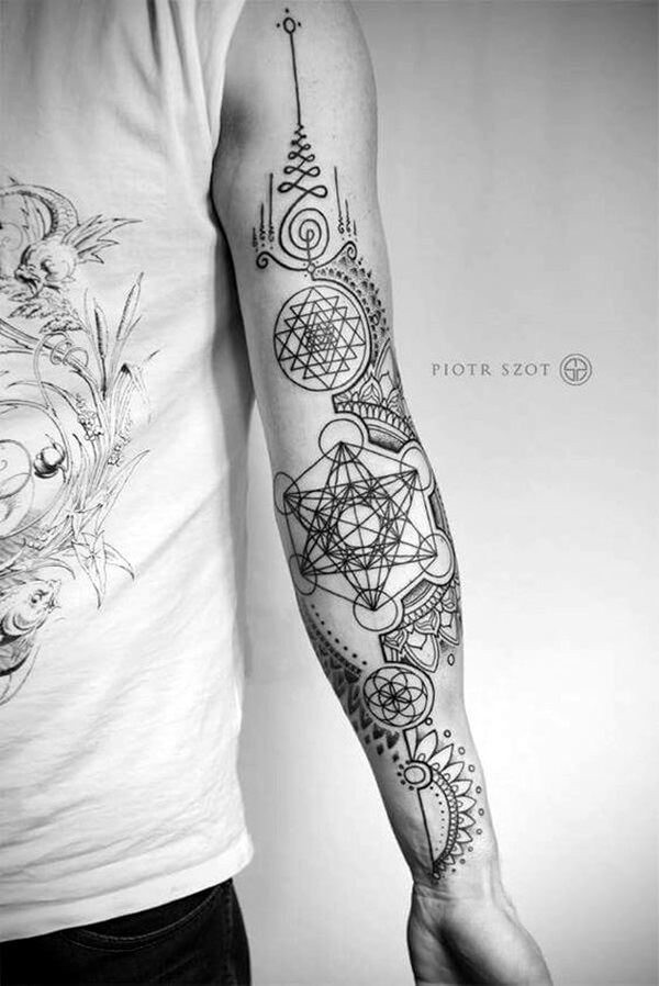 Unalome Tattoo Designs Every Girl Will Fall in Love With (38)