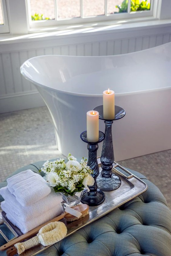 Ways To Use Candles In Bathroom For Special Nights (14)