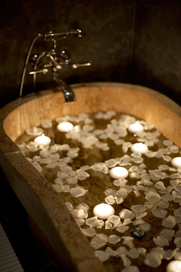 Here Are Some Ways To Ensure That You Make The Bathroom Ready For Special Nights With The Use Of Candles