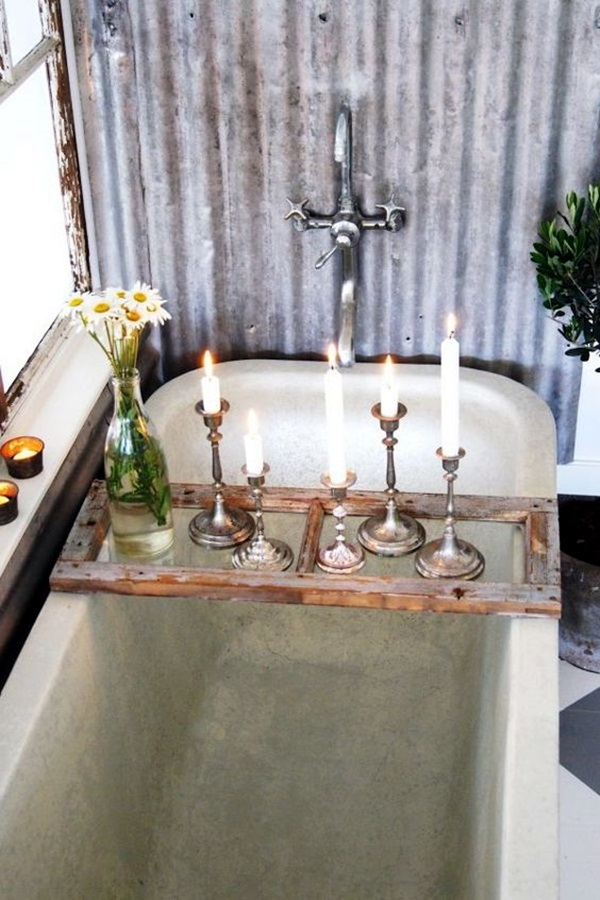 Ways To Use Candles In Bathroom For Special Nights (7)