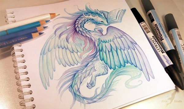 color pencil drawing Examples (12)