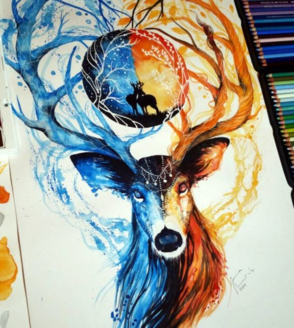 color pencil drawing Examples (20)