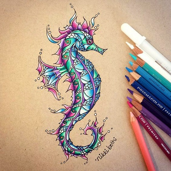 40 Color Pencil Drawings To Having You Cooing With Joy ...