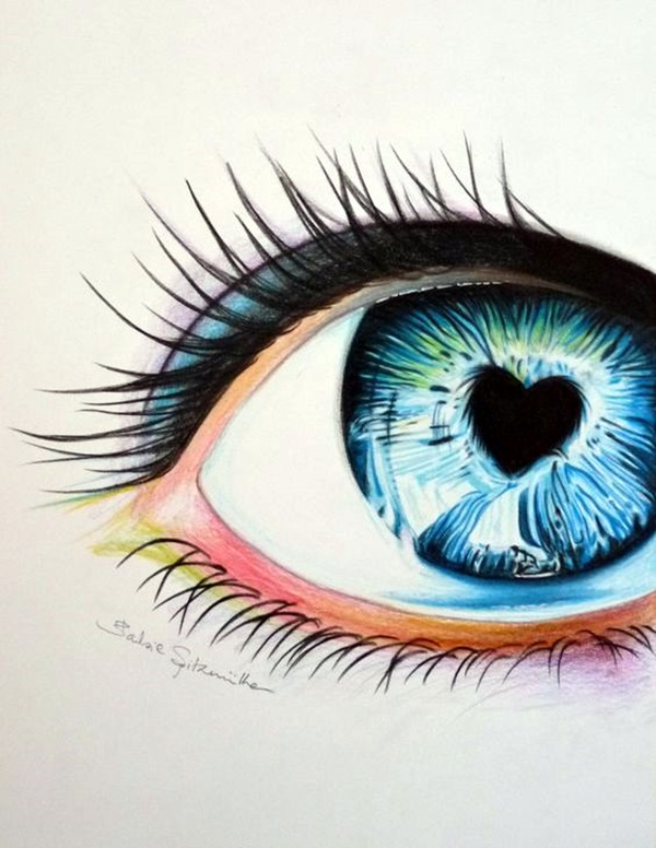color pencil drawings to having you cooing with joy - Color Drawings