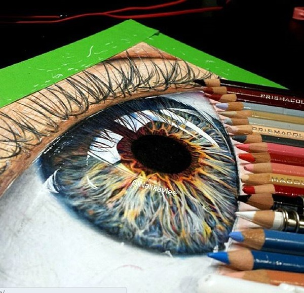 40 Color Pencil Drawin... Cool Lighter Drawings