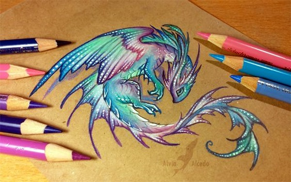 color pencil drawing Examples (47)
