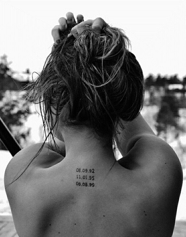 coordinates tattoo Ideas to Mark a Memory on Body (10)