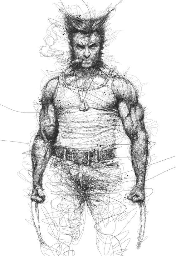 scribble art 5