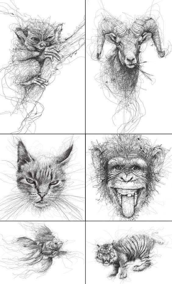 scribble art 6