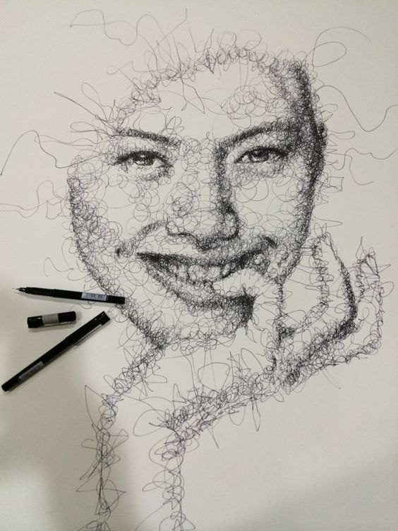 scribble art 9