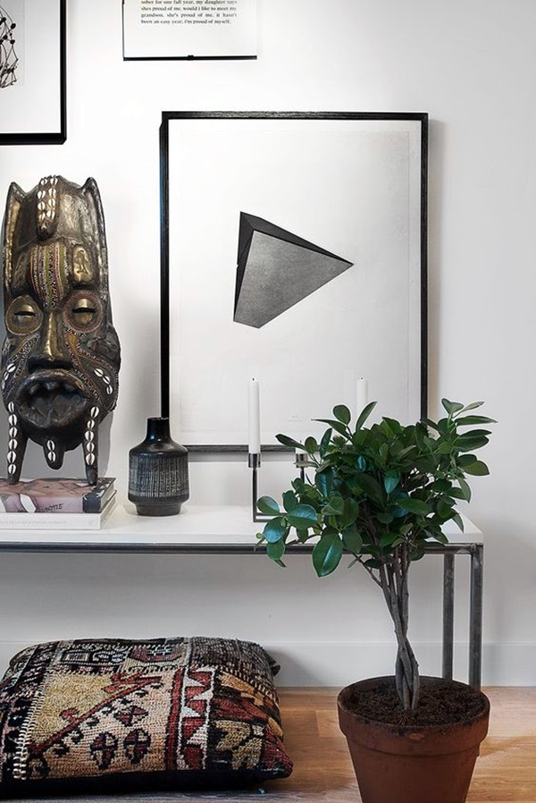 African Masks Wall Decoration Ideas (12)