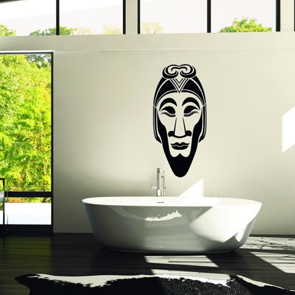 African Masks Wall Decoration Ideas (13)