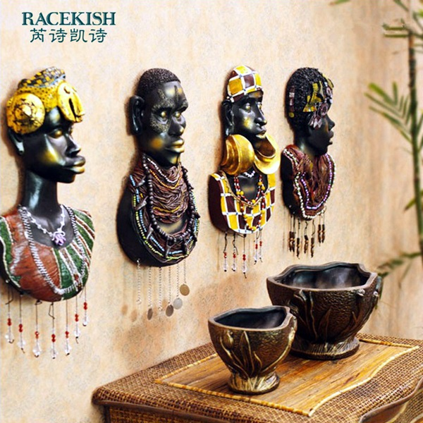 African Masks Wall Decoration Ideas (19)