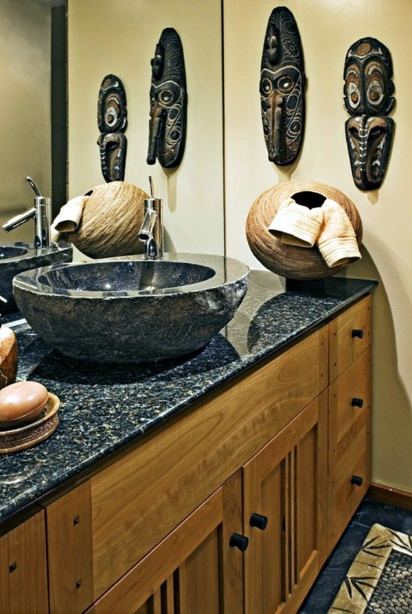 African Masks Wall Decoration Ideas (20)