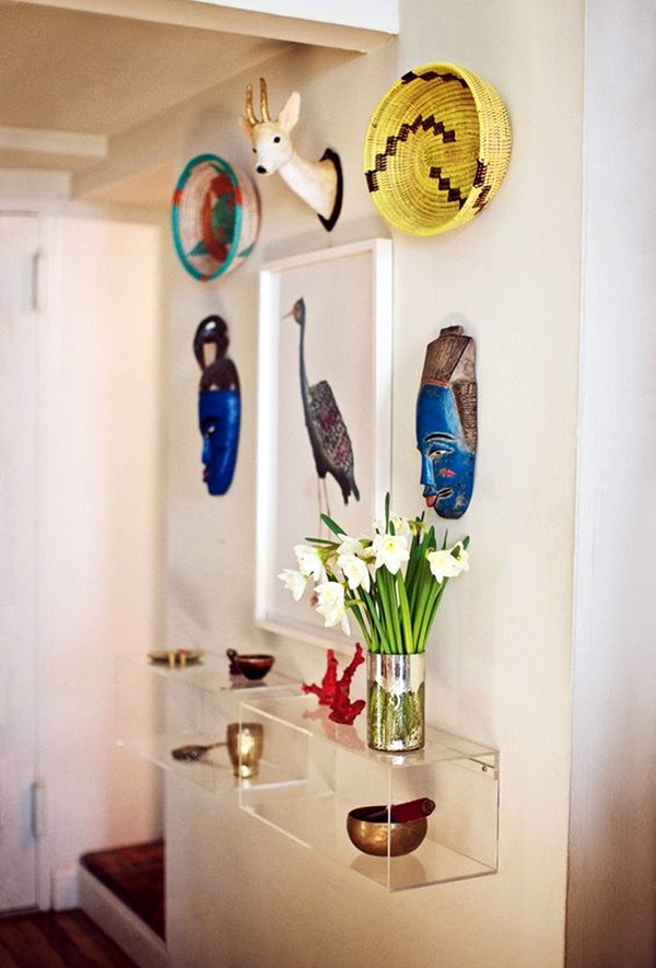 African Masks Wall Decoration Ideas (22)