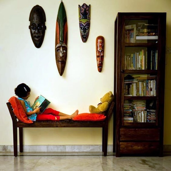 African Masks Wall Decoration Ideas (24)