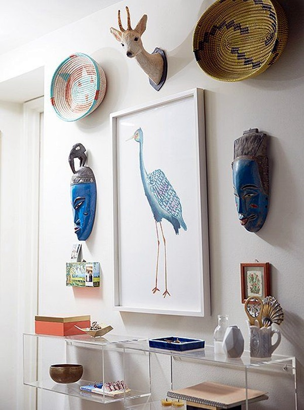 African Masks Wall Decoration Ideas (32)