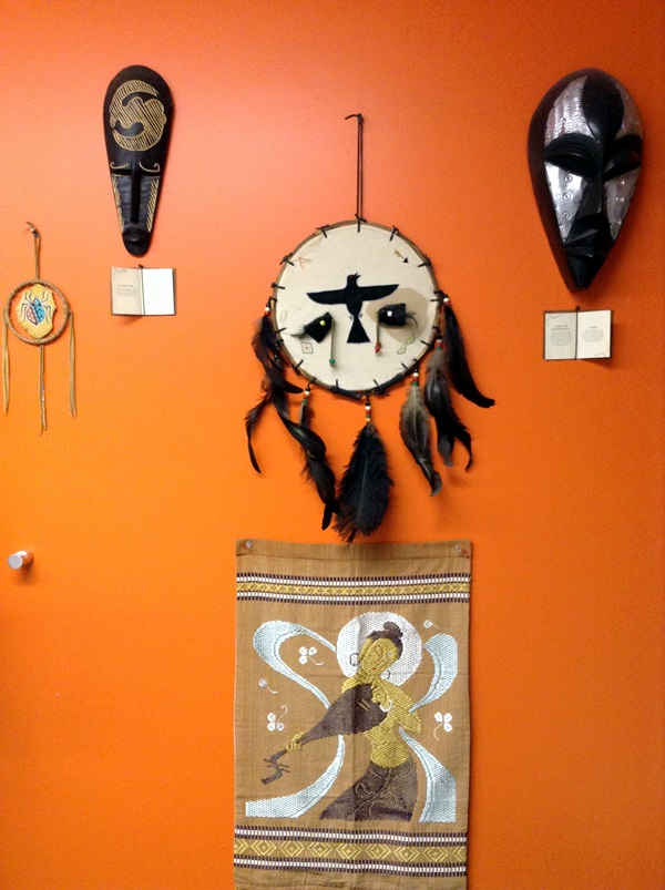 African Masks Wall Decoration Ideas (36)