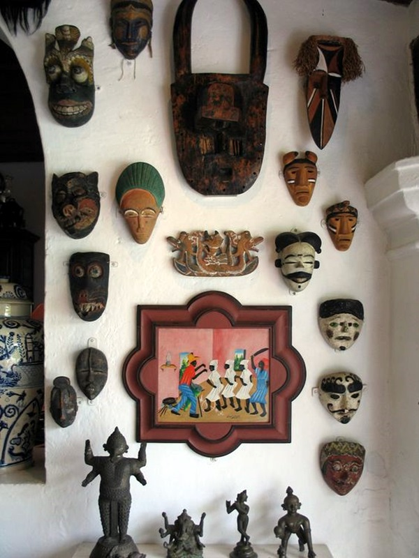 African Masks Wall Decoration Ideas (4)